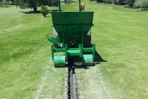 Sand Gravel Hopper perfect for Golf Course Drainage